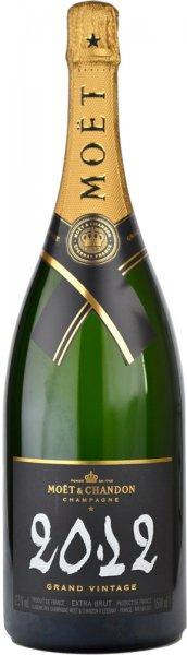 Moet & Chandon Grand Vintage Extra Brut 2012 Champagne Magnum (1.5 litre)