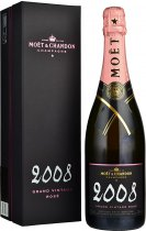 Moet & Chandon Grand Vintage Rose 2008/2012 Champagne 75cl in Moet Box