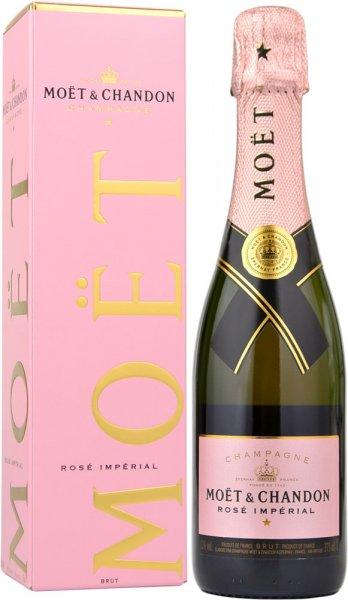 Moet & Chandon Rose NV Champagne 37.5cl in Branded Box