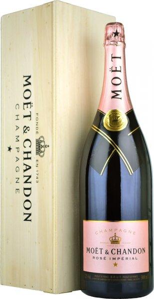 Moet & Chandon Rose NV Champagne Jeroboam (3 litre)