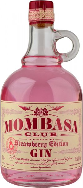 Mombasa Club Gin Strawberry Edition 70cl
