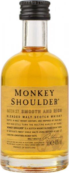 Monkey Shoulder Blended Malt Whisky Miniature 5cl