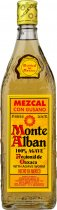 Monte Alban Mezcal Con Gusano with Agave Worm 70cl