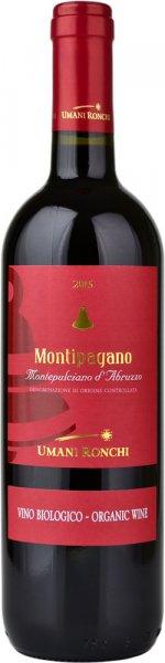 Montepulciano d'Abruzzo DOC Organic, Montipagano 2017 75cl