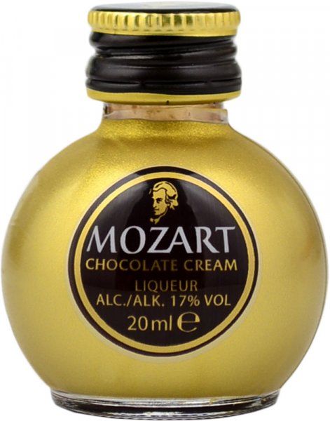 Mozart Gold Chocolate Cream Liqueur Miniature 2cl