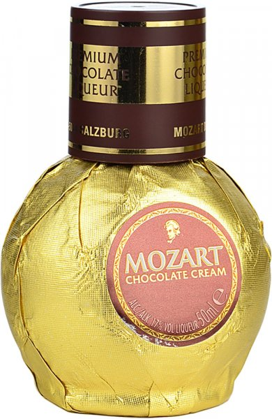 Mozart Gold Chocolate Cream Liqueur Miniature 5cl