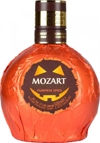 Mozart Pumpkin Spice Chocolate Cream Liqueur 50cl