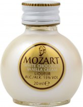 Mozart White Chocolate Vanilla Cream Liqueur Miniature 2cl