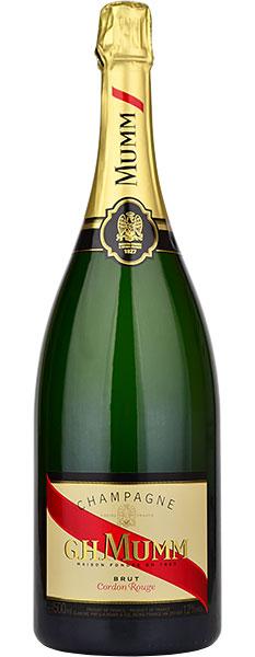 Mumm Cordon Rouge Brut NV Champagne Magnum (1.5 litre)