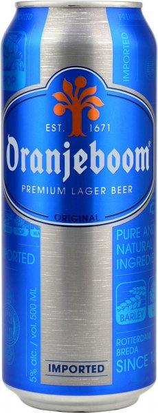 Oranjeboom Premium Lager 440ml CAN