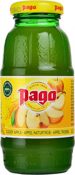 Pago Cloudy Apple Juice 200ml Bottle