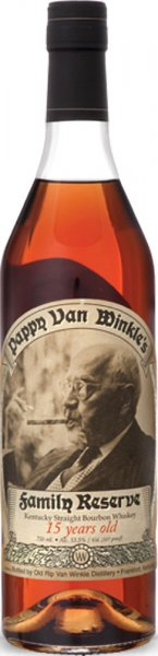 Pappy Van Winkle 15 Year Old Family Reserve Bourbon 75cl