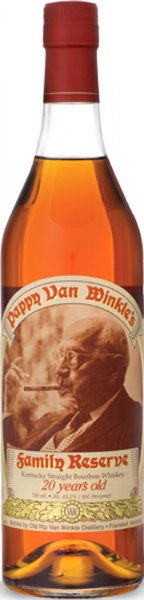 Pappy Van Winkle 20 Year Old Family Reserve Bourbon 75cl