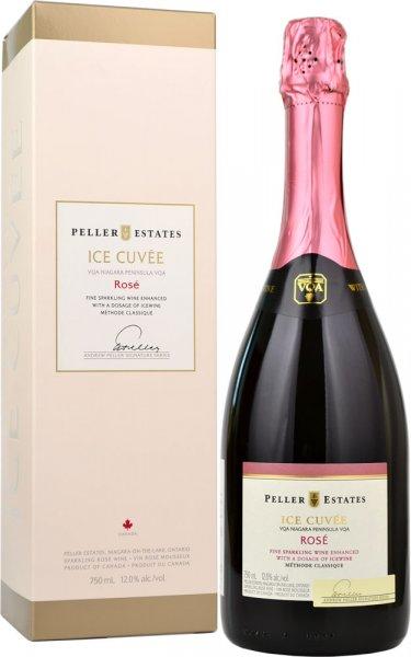 Peller Estates Sparkling Ice Cuvee Rose NV 75cl