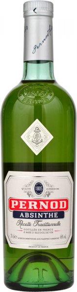 Pernod Absinthe (68%) 70cl