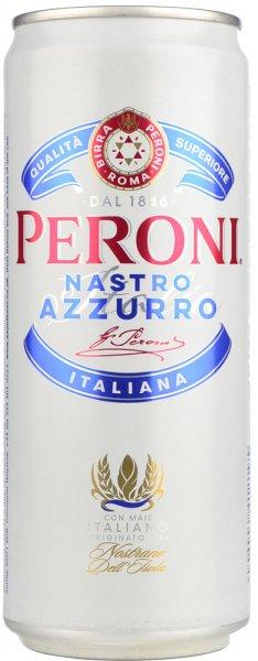 Peroni Nastro Azzurro Premium Lager 330ml CAN