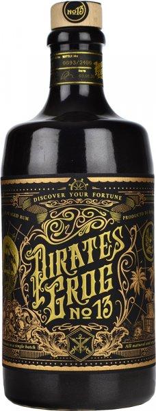 Pirates Grog No.13 Fine 13 Year Aged Rum 70cl