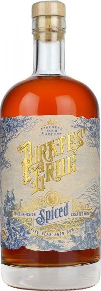 Pirates Grog Spiced Rum 5 Year Old 70cl