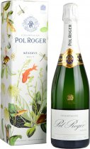 Pol Roger Brut Reserve NV Champagne 75cl in Branded Box