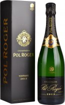 Pol Roger Brut Vintage 2012 Champagne 75cl in Branded Box