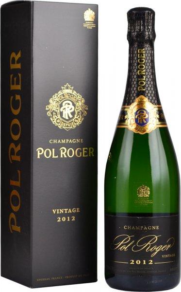 Pol Roger Brut Vintage 2012 Champagne 75cl in Branded Box