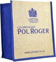 Pol Roger Jute Bag