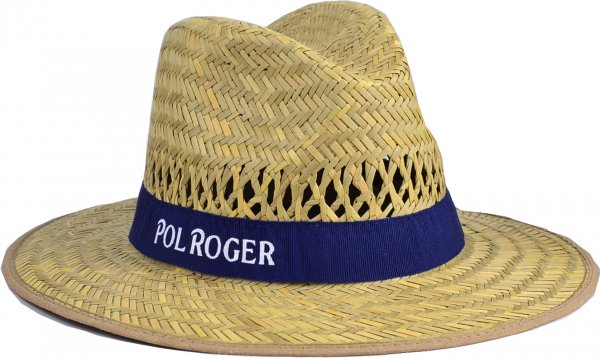 Pol Roger Straw Hat
