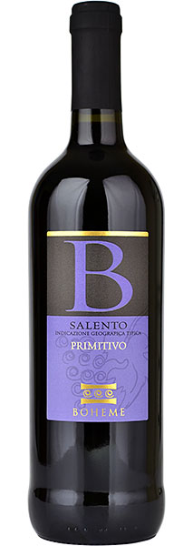 Primitivo Salento, Boheme 2019 75cl