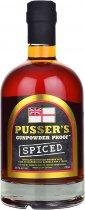 Pussers Gunpowder Proof Spiced Rum 54.5% 70cl