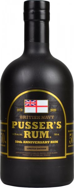 Pussers Rum 50th Anniversary Limited Edition 70cl