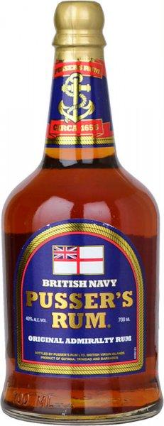 Pussers Rum Blue Label (40% Vol) 70cl