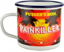 Pussers Rum Painkiller Tin Cup
