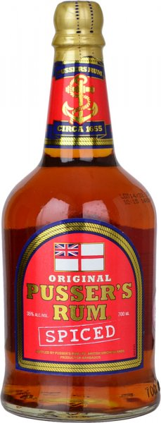 Pussers Spiced Rum 35% 70cl