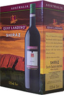 Quay Landing Shiraz Red 3 litre