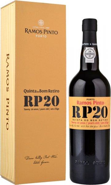 Ramos Pinto 20 Year Old Tawny (Quinta do Bom Retiro) Port 75cl