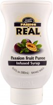 Real Passion Fruit Puree Syrup 500ml Squeezy Bottle