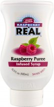 Real Raspberry Puree Syrup 500ml Squeezy Bottle