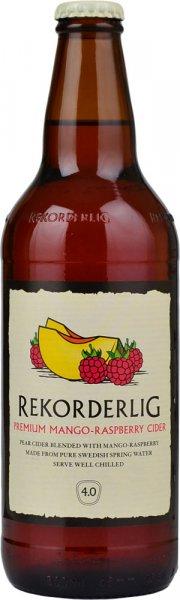 Rekorderlig Premium Mango-Raspberry Cider 500ml Bottle