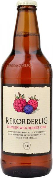 Rekorderlig Premium Wild Berry Cider 500ml Bottle