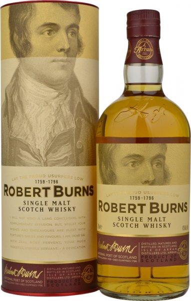 Robert Burns Single Malt Whisky - Arran 70cl