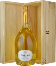 Ruinart Blanc de Blancs NV Champagne Jeroboam (3 litre) in Wood Box