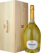 Ruinart Blanc de Blancs NV Champagne Jeroboam (3 litre) in Wood Box