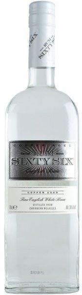 Rum Sixty Six English White Rum 70cl