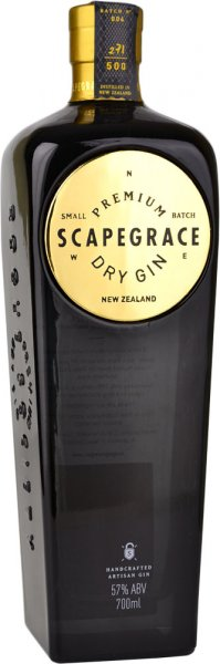 Scapegrace Gold Gin 70cl