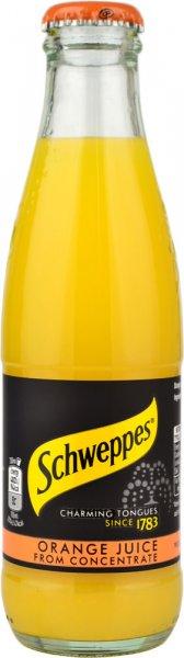 Schweppes Orange Juice 24pk (200ml NRB)