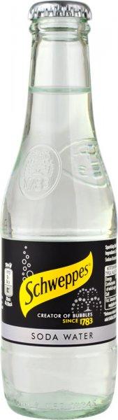 Schweppes Soda Water 24pk (200ml NRB)