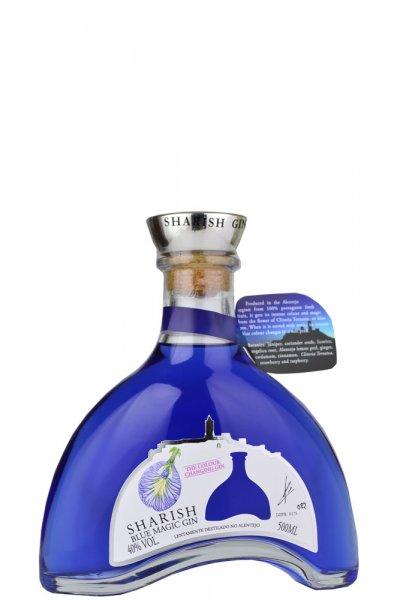 Sharish Blue Magic Gin 50cl