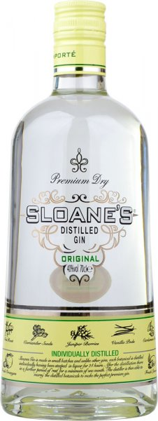 Sloanes Original Dry Gin 70cl