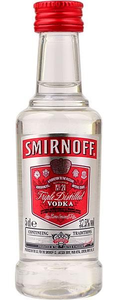 Smirnoff Red Vodka Miniature 5cl