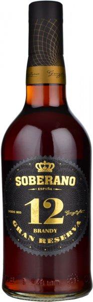 Soberano 12 Solera Reserva Brandy 70cl